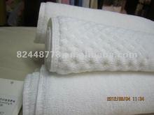 hotel jacquard bath mats