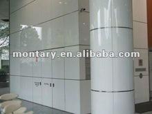 indoor crystal glass decorative wall columns