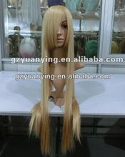 "Europe wigs long blond mono topper wig 33"""