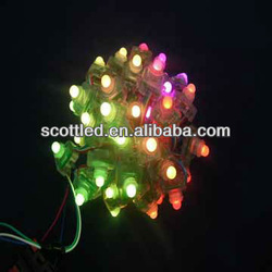 full color square led pixel ws2801 12mm