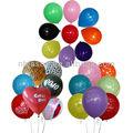 balões de festa coloridos
