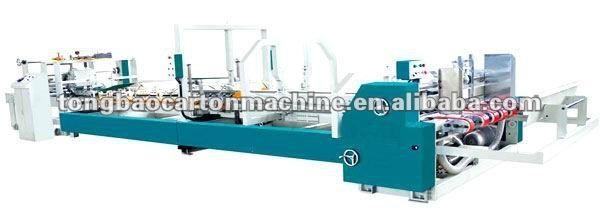 automatic folder gluer carton machine