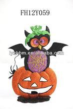 Decoration metal bat halloween
