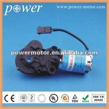 12v dc gear motor PGM_W55L_4370_200 for car