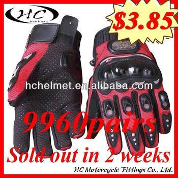 HC Glove 1000cc racing motorcycle