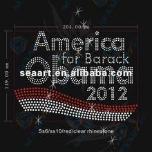 america 2012 rhinestone transfer motifs