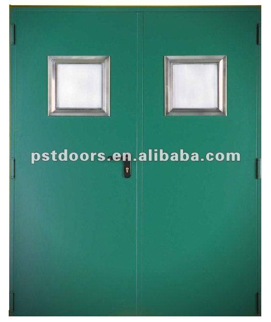 Extérieur en acier portes coupe feu ( certificat bs ), porte coupe feu pour usage résidentiel