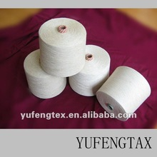 Viscose /Flax blended yarn 80%/20% 30S for knitting and weaving