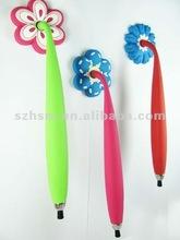 fashion creative promotional craft vinyl pvc fridge magnet pen