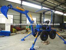 mini driving excavator/ towable backhoe 22hp
