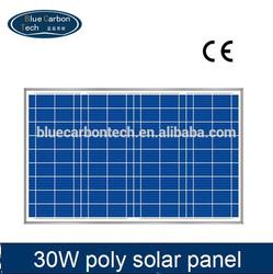 BCT 30w small solar panels 12v