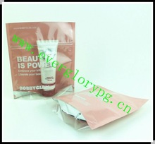 2012 Inside Printing Stand Zip Lock Transparent Poly Bag
