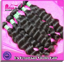 Virgin peruvian natural wave hair,perfect lady hair weave