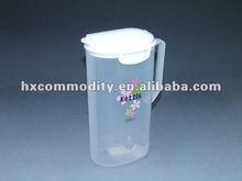 plastic 2.5 liter lockable water pitcher