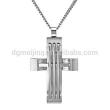 2014 new design matt cross stainless steel pendant(MJP-0566)