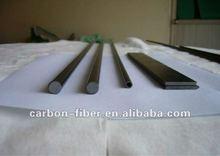Pleine fiber de carbone tiges