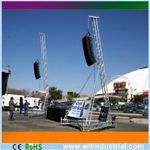 truss for line array speaker tower