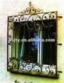 Janela de ferro forjado grill/windows balaustrada/trilhos