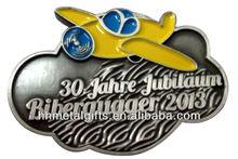 Custom plane lapel pin/ badges emblems