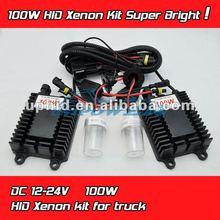 Hottest H1 H3 H4 H7 H8 H9 H11 9005 9006 880 881 100W HID xenon kit for Truck Light