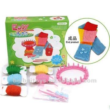 الحياكة حرفة آلة DIY سهلة لعبة حك المبتدئين للتربية وللأطفال