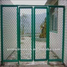 good quality PVC Beautiful Grid Mesh (11 years' factory)