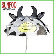 Friendly cow umbrella for kids