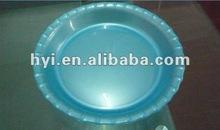 simple design cheap price dinnerware round fruit plate