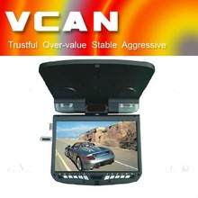 "VCAN0356/9""TFT-LED 12v TV Flip down DVD With Game/9 monitor"