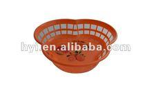 cute new model OEM supplier injection fruit plastic basket