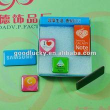 Big brand phone promotion Glue fridge magnet