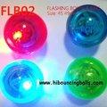 49mm rebotando la bola con led parpadea la luz