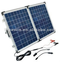 Portable folding solar panel 40W for home system