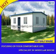 Wood house villa