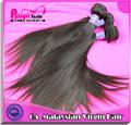 Grelha reta cabelo virgem, nomes da malásia de cabelo extensão