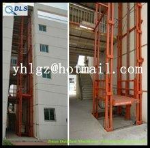 hydraulic chain lift/wall mounted folding table