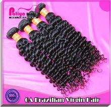 Wear comfortable & 100% human hair weft,brazilian curly hair weave