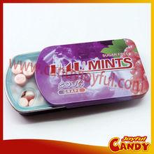 sugar free mints in tins