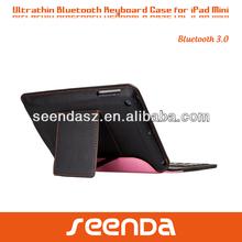 Wireless bluetooth keyboard for ipad mini case