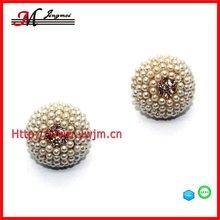 E2925 Jingmei 2012 Hot Sale Stylish Stud Pearl Earrings