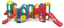 CE indoor plastic kids slides for home, kindergarten, Mcdonalds and KFC