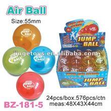 55mm TPU air glitter bouncing ball