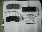 auto truck brake pads for Mercedes Benz/MAN/IVECO/ OEM WVA 29094
