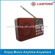 2012 New Model Radio Speaker with LED Light RX-898
