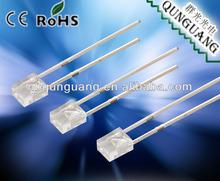 5mm flat top dip led diode
