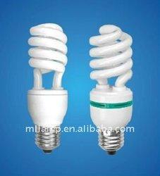 2012 hot sale Half spiral energy saving light bulb