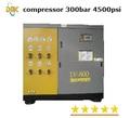 Alta presión del compresor de aire 400 - 800 l / min, 30Mpa 4500 psi