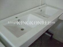 acrylic solid surface bathroom wall hung basin