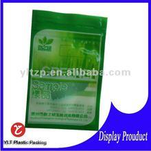 2012 new flexible packaging with heat seal custom logo