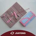 Set de manicura, portátil bolsa de cuero kit, regalo de la promoción